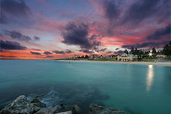 Cottesloe Beach at dusk (angstrom jak) Tags: beach landscape perth canon10d cottesloe westernaustralia
