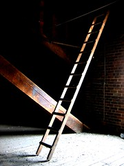 Jacob's Ladder (Michael Mitchener) Tags: toronto barley industrial distillerydistrict victorian whiskey historic rye whisky distillery jacobsladder smokehouse gooderham doorsopentoronto worts 5godeyes michaelmitchenercom