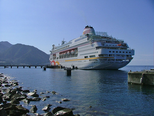 Dominica - Roseau cruise ship dock