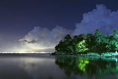Noite em Floripa #02 ( Murilo78) Tags: floripa brazil 20d brasil night canon island coast florianpolis sigma nuvens noite santacatarina litoral ilha clounds sambaqui longaexposio 2470 longexposition