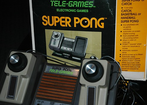 Eat your heart out xbox...I am Super Pong