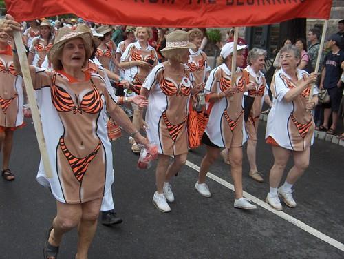 Woohoo! It's a parade!
