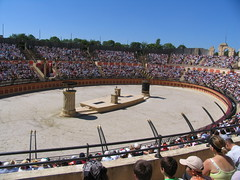 Puy du Fou juin 2005 049 (Michel Craipeau) Tags: canon lumire son 2006 michel parc spectacle vende atraction powershotpro1 puydufou craipeau craipeaumichel cinescenie elumeilleurparcdumondeen2012
