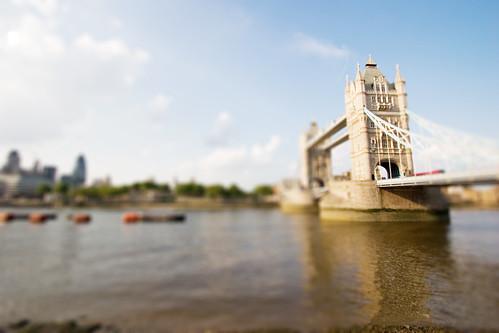 Tilt Shift Tower Bridge by matstace.