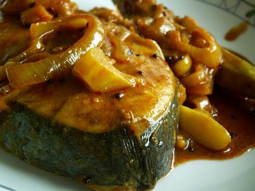 curry fish - kari ikan