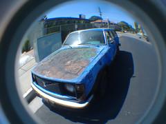Art Car (dogwelder) Tags: california car june volvo paint 2006 zurbulon6 artcar northhollywood zurbulon gatturphy