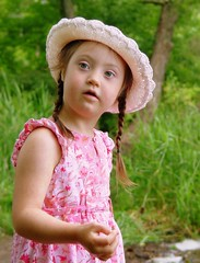 "Yup, I""m going to throw some rocks..... (annikaleigh) Tags: lake trisomy21 mykid t21 downssyndrome downsydnrome quiettimes"