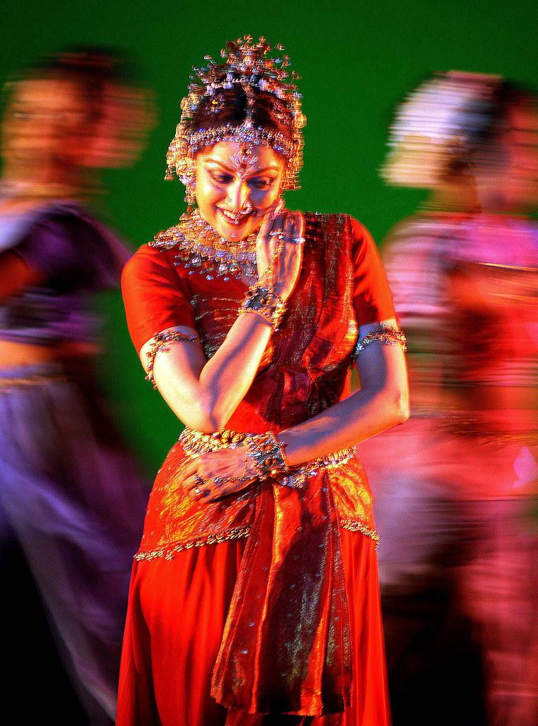Hema Malini, performing
