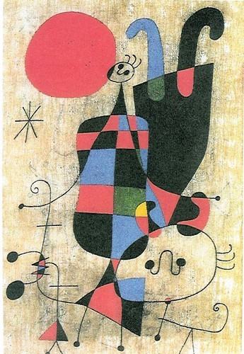 Joan Miro-Upside down
