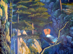 LBC reception mural, detail 3