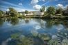 A sunny estate (gms) Tags: summer clouds wow scotland greenock sunny 100v10f fv5 reservoir flickrexport inverclyde thomstreet