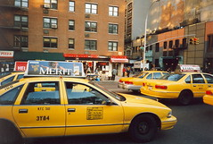 Manhattan 1997 (So Cal Metro) Tags: nyc newyorkcity ford chevrolet manhattan cab taxi taxis chevy 1997 caprice crownvictoria