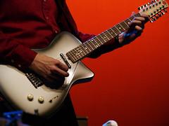 (scottintheway) Tags: red music festival rock concert edmonton guitar folk olympus wilco zuiko tweedy edmontonfolkmusicfestival evolt 12string e500 zd 1454mm 1454 jerryjones f2835 notactuallyadanelectro