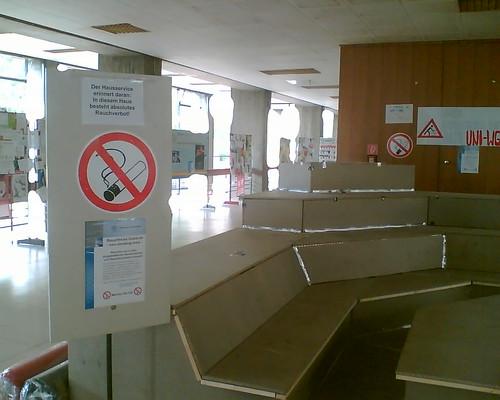 Rauchfrei Nichtraucher WG picture photo bild