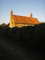 Steeple Ashton, Wiltshire (avtost) Tags: trip england brick bicycle tile march spring ride thomas timber cottage steeple edward hedge cycle half poet ashton wiltshire pursuit 1913 edwardthomas inpursuitofspring