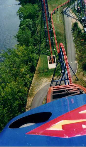 six flags new england park map. at Six Flags New England, MA