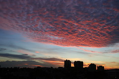 Mars Attack (lsyx720) Tags: sunset sky cloud landscape singapore ray