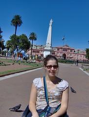 cecile en la plaza de mayo (Claire tango) Tags: frangine