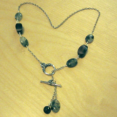 Forest Lariat (Becky Striepe) Tags: necklace lariat