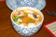 Khan Toke - Tom Yum Goong (digitalexistence) Tags: sanfrancisco food tom san francisco yum thai tomyumgoong khantoke goong