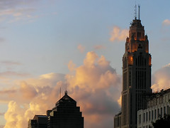 Civic Sunset (It'sGreg) Tags: sunset downtown columbusohio urbanscape whathaveidone lawdyasunsetphotograph
