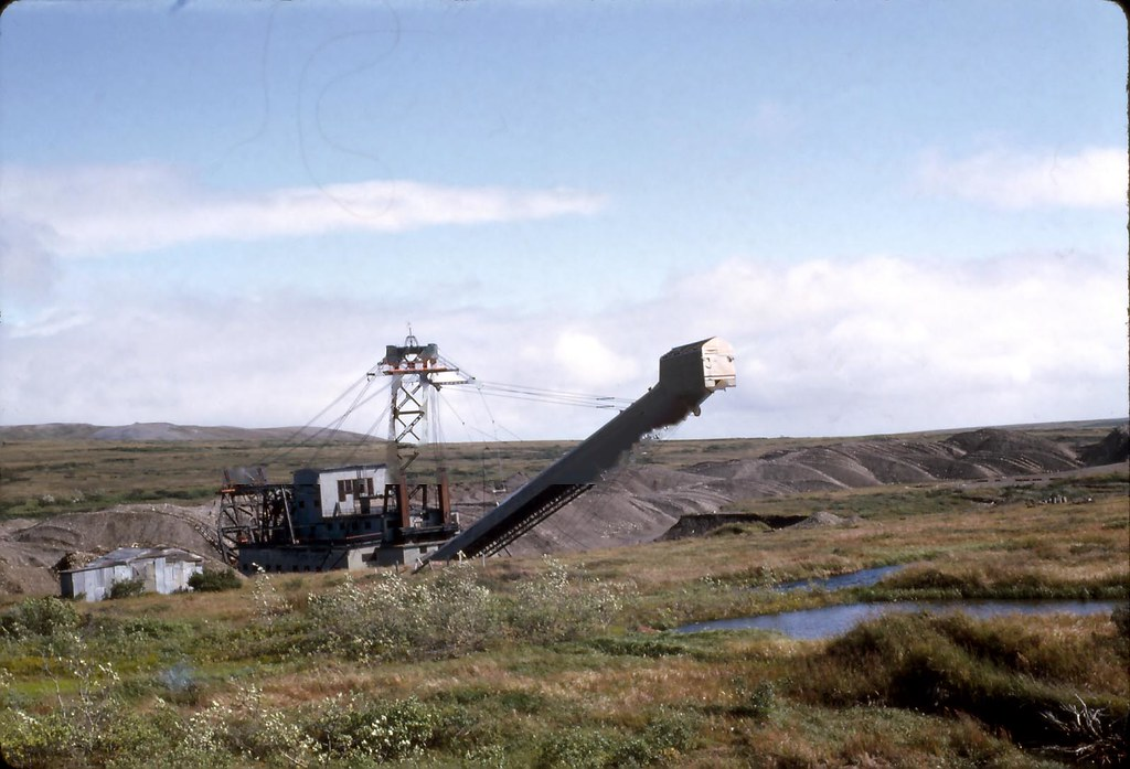 Gold Dredging Alaska - 1965