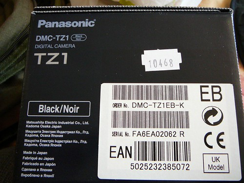 panasonic dmc-tz1 camera