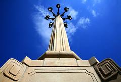 Wow Warsaw, That Sure Is One Mighty, Magnificent, Monumental Lamppost! (Rod Monkey) Tags: poland polska lamppost warsaw warszawa plackonstytucji interestingness379 i500 socialistrealist superhearts rodirvine