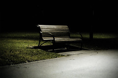 dreams (reprise) (velco) Tags: park topf25 night bench empty seat topv999 australia melbourne flagstaff dreams velco emty topvaa