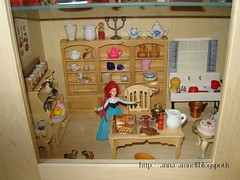 the kitchen is ok (Anna Amnell) Tags: kitchen miniatures cocina miniatura dollhouse thecook keittiö dollshouse munecas puppenhaus nukkekoti nukketalokaapissa redhaireddoll