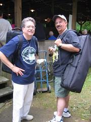 Dave and Ken (Braider) Tags: irish festival augusta elkins