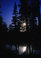 moon rise (Steve took it) Tags: moon lake reflection nature noisereduction abigfave