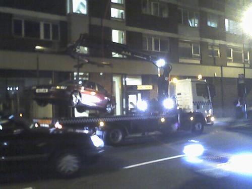 London Car Crane
