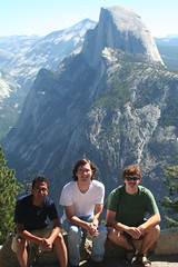 IMG_7693 (Sarah and Jason) Tags: california jason mountains august 2006 valley yosemite halfdome yosemitenationalpark yosemitevalley alok august2006 jefft
