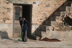 steps to sweeping / βήματα στο σκούπισμα