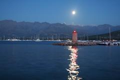 moon over Calvi / lune sur Calvi - by topher76