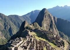 Machu Picchu, the classic view