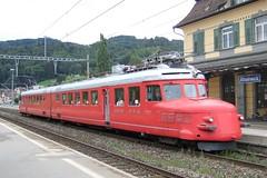 Red Arrow - Switzerland (Kecko) Tags: railroad red public train schweiz switzerland europe suisse swiss transport kecko ostschweiz eisenbahn railway zug 2006 sbb f30 arrow svizzera bahn verkehr rheineck roterpfeil swissphoto