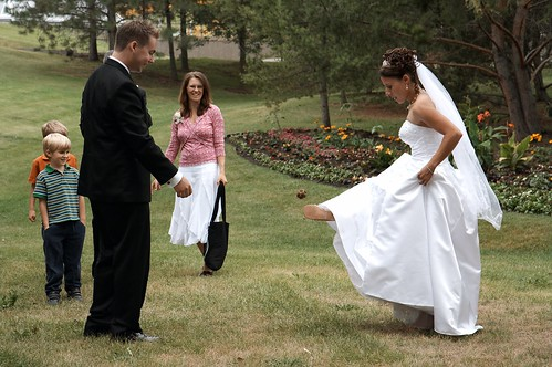 Wedding Footbag