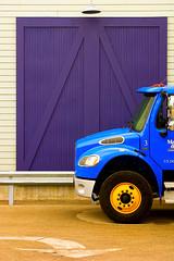 Purple door blue truck (key lime pie yumyum) Tags: door blue truck purple save3 7 save8 save save2 save9 save4 save5 save10 save6 savedbythedeletemeuncensoredgroup