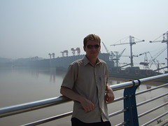 Me & the Three Gorges Dam (Harald Groven) Tags: china photo picture harald bilde threegorgesdam  hbei snxidb haraldpictures
