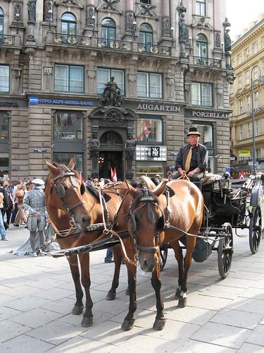 fiaker en Stephansplatz