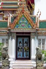 2016_04-Bangkok-M00133 (trailbeyond) Tags: architecture asia bangkok building gold green location outdoors pattern religiousbuilding temple templeoftheemeraldbuddha texture thailand thegrandpalace watphrakaew white