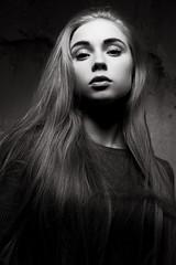 взгляд (annie_scorsese) Tags: girl portrait woman womanportrait people photo lips blackandwhite blackandwhiteportrait blackandwhitephoto 50mm 50 nikon d700 nikond700