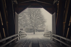 Winter Wonderland (Kevin Kovarik) Tags: kevin kovarik nikon d7000 2875 28 parvin covered bridge oregon winter wonderland pacific northwest classic christmas