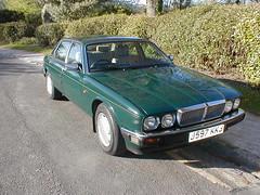 P1010003 (saabfan) Tags: park green sport racing eastbourne british 1991 jaguar hampden xj xj6 6cyl xj40 6cylinder 200hp 200bhp