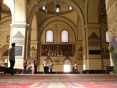 Di Dalam Great Mosque, Bursa, Turkey