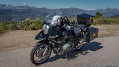 2004 BMW R1150 GS - Wyoming (petechar) Tags: mountains landscape motorcycle wyoming beartoothhighway indexpeak pilotpeak bmw2004r1150gs charlesrpeterson petechar sonyrx100m3