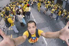 2015 Bersih 4.0 Rally, Kuala Lumpur, Malaysia. (fujinliow) Tags: yellow democracy cool fisheye malaysia cameratossing kualalumpur cameratoss 75mm fujin gh3 bersih anticoruption liow fightingfordemocracy fujinliow liowfujin bersih40 seaming75mm 1mdbscandal detrainmerdeka bersih4 dmch3