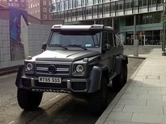 RT55 SSS Brabus Mercedes, Southwark, London, 29-08-15. (Tin Wis Vin) Tags: london 6x6 mercedes southwark brabus 6wheeler